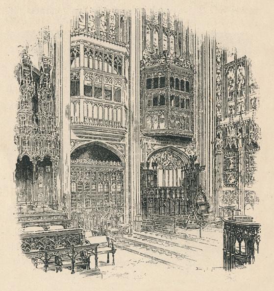 Circa 14th Century「Choir Stalls And Royal Closet」:写真・画像(17)[壁紙.com]