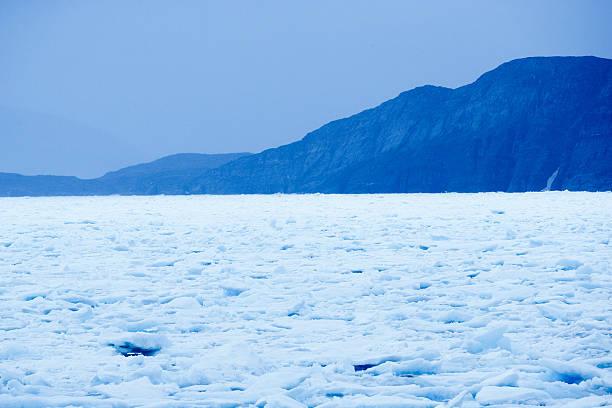 Drift ice consolidating along Arctic coast:スマホ壁紙(壁紙.com)