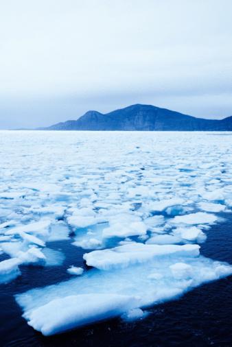 Eco Tourism「Drift ice consolidating along Arctic coast」:スマホ壁紙(6)