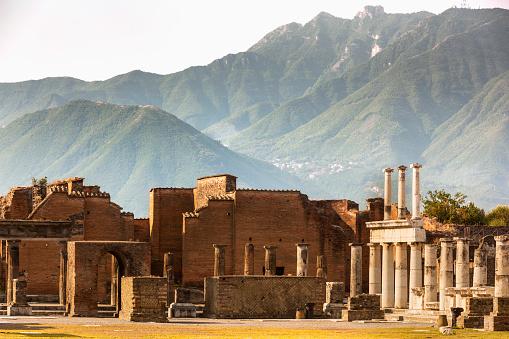 Archaeology「Pompeii archaeological site」:スマホ壁紙(4)