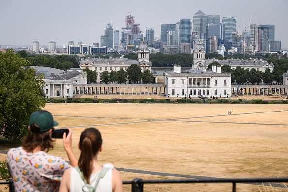 Greenwich Park - London「Met Office Predicts Hottest July Day Ever In The UK」:写真・画像(9)[壁紙.com]