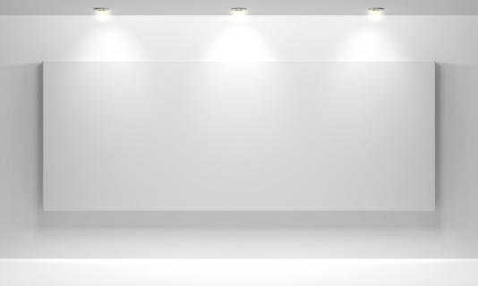 Art「Gallery Interior with empty」:スマホ壁紙(11)