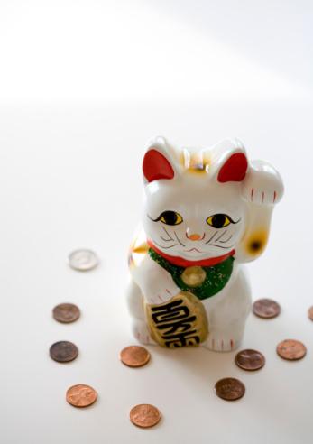 Maneki Neko「Japanese money cat」:スマホ壁紙(18)