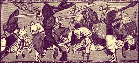 Circa 14th Century「Knights fighting at a tournament」:写真・画像(16)[壁紙.com]
