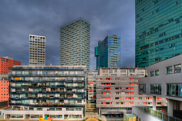 Apartment「Stadtentwicklung, Wienerberg, Vienna, Austria」:写真・画像(0)[壁紙.com]
