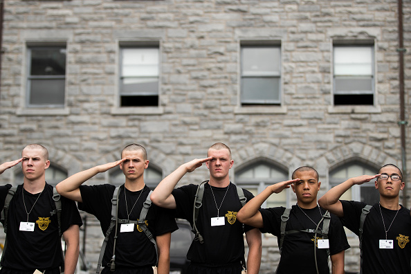 Cadet「A New Class Of Cadets Reports To U.S. Military Academy At West Point」:写真・画像(1)[壁紙.com]