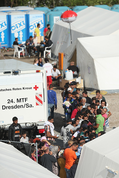 Syrian Civil War Refugee Crisis「Refugees Arrive In Dresden Amidst Protests」:写真・画像(11)[壁紙.com]