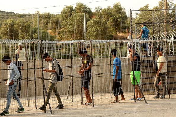 Lesbos「Refugees Remain Stranded On Lesbos」:写真・画像(9)[壁紙.com]