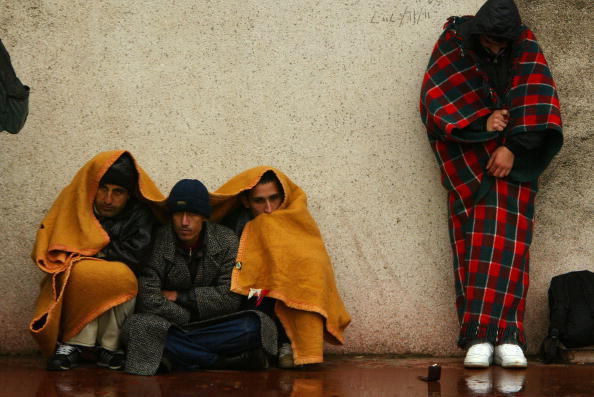 Calais「Refugees In Calais Take Shelter In A Church 」:写真・画像(2)[壁紙.com]