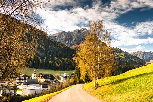 Alto Adige - Italy「val di funes landscape」:スマホ壁紙(18)