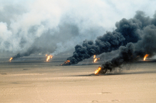 Oil Industry「Oil Well Fires in Kuwait」:スマホ壁紙(8)