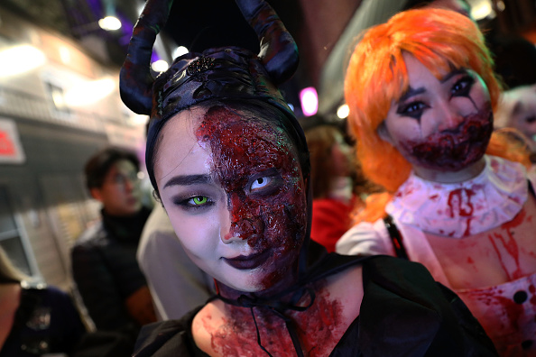 Seoul「South Koreans Celebrate Halloween In Seoul」:写真・画像(6)[壁紙.com]