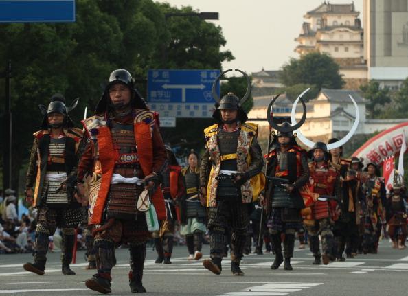 戦国武将「Castle Festival Celebrated In Himeji」:写真・画像(9)[壁紙.com]