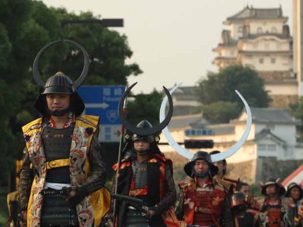 戦国武将「Castle Festival Celebrated In Himeji」:写真・画像(1)[壁紙.com]