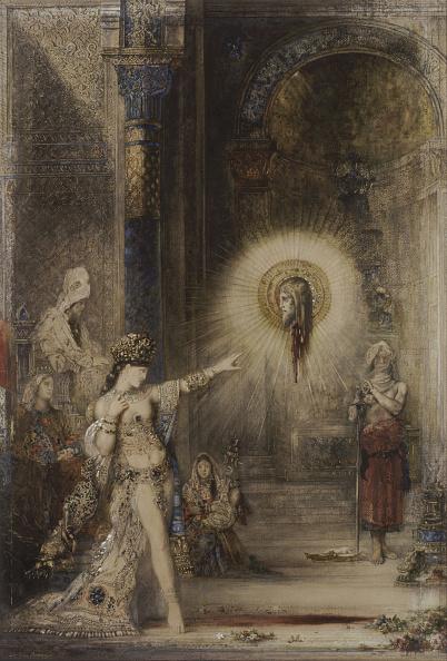 Salome - Daughter of Herodias「The Apparition Artist: Moreau」:写真・画像(7)[壁紙.com]
