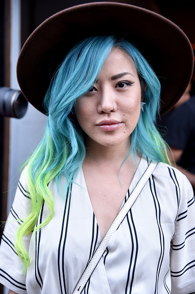 Wavy Hair「Seen Around Spring 2016 New York Fashion Week: The Shows - Day 2」:写真・画像(8)[壁紙.com]