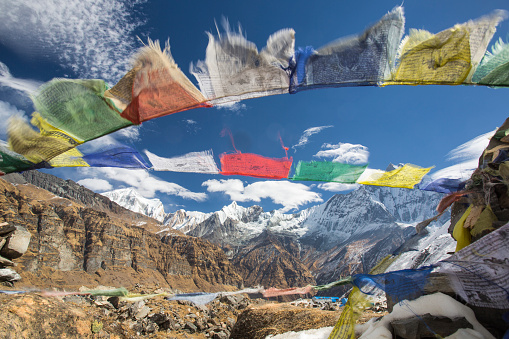 Annapurna Conservation Area「Annapurna base camp at 4130 meters」:スマホ壁紙(6)