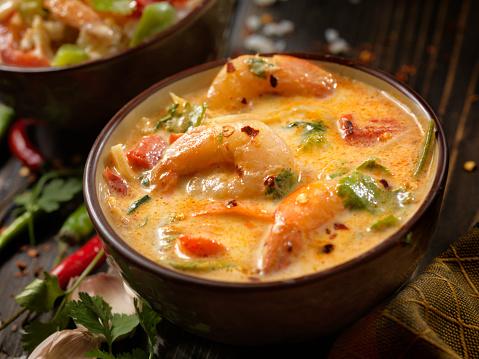 Thai Culture「Spicy Shrimp, Coconut Milk Curry」:スマホ壁紙(17)