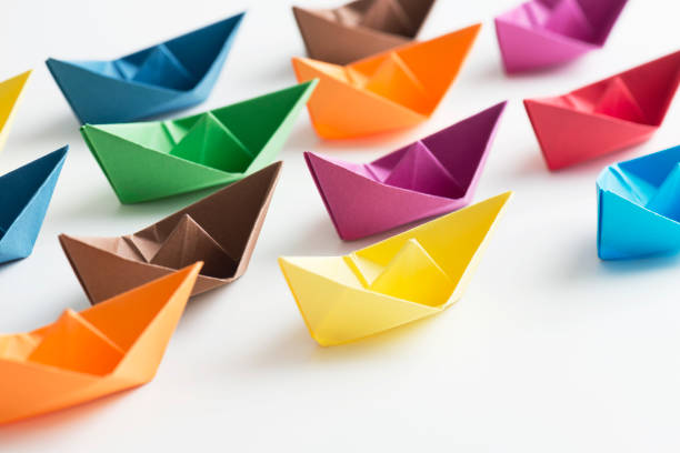 Paper Boats:スマホ壁紙(壁紙.com)
