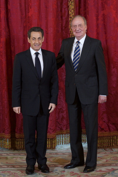 Madrid Royal Palace「Nicolas Sarkozy  Honoured with the 'Toison de Oro' at The Royal Palace in Madrid」:写真・画像(5)[壁紙.com]