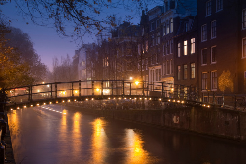 Amsterdam「Amsterdam by Night」:スマホ壁紙(14)