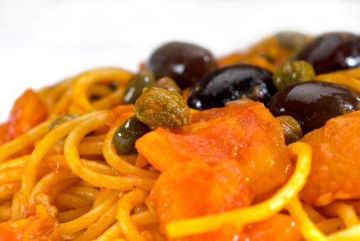 Pepper - Seasoning「spaghetti pasta puttanesca」:スマホ壁紙(12)