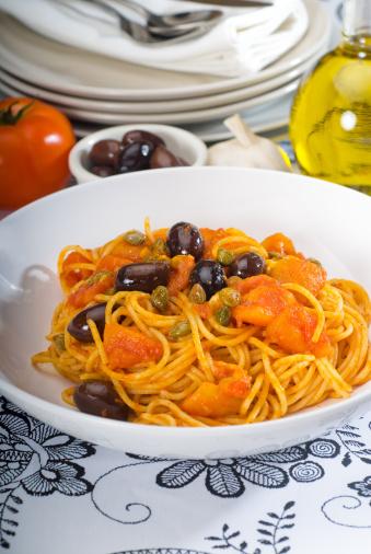 Pepper - Seasoning「spaghetti pasta puttanesca」:スマホ壁紙(13)