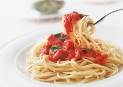 フォーク「Spaghetti Pomodoro」:スマホ壁紙(6)