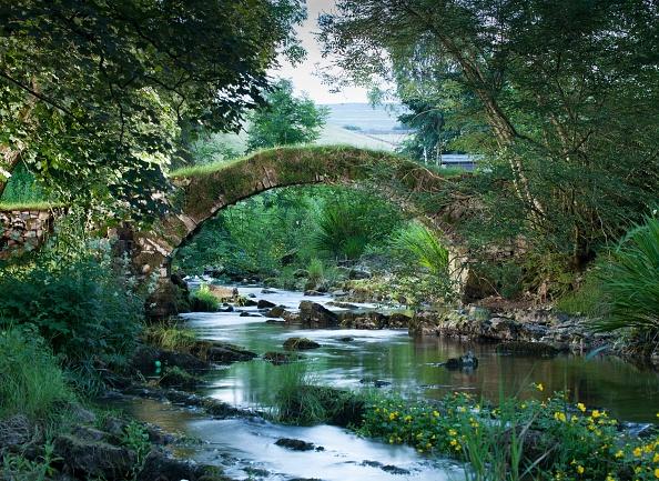 平穏「Medieval Packhorse Bridge」:写真・画像(4)[壁紙.com]