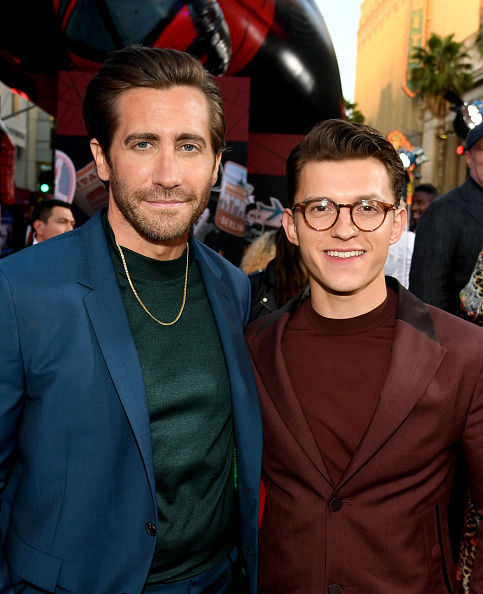 """Jake Gyllenhaal「Premiere Of Sony Pictures' """"Spider-Man Far From Home""""  - Red Carpet」:写真・画像(11)[壁紙.com]"""