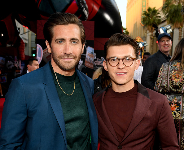 """Jake Gyllenhaal「Premiere Of Sony Pictures' """"Spider-Man Far From Home""""  - Red Carpet」:写真・画像(16)[壁紙.com]"""