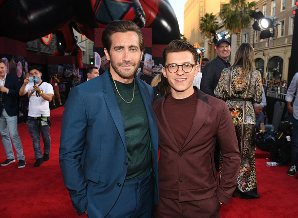 """Jake Gyllenhaal「Premiere Of Sony Pictures' """"Spider-Man Far From Home""""  - Red Carpet」:写真・画像(10)[壁紙.com]"""