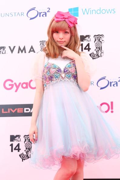 きゃりーぱみゅぱみゅ「MTV Video Music Awards Japan 2014 - Arrivals」:写真・画像(6)[壁紙.com]