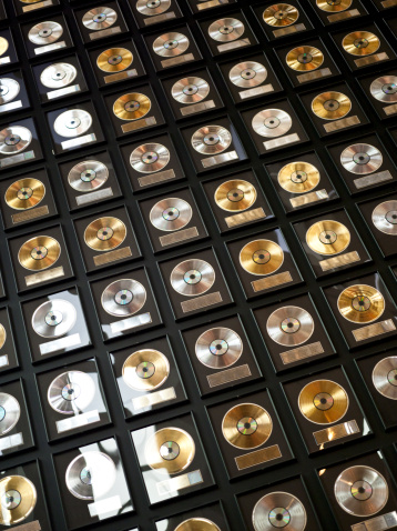 Music「Wall of records」:スマホ壁紙(14)