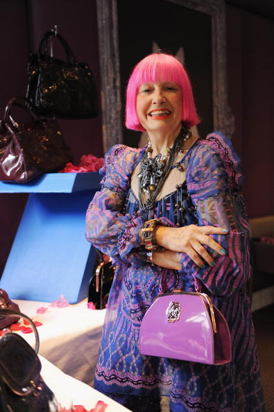 Ian Gavan「Zandra Rhodes - Handbag Launch Photocall」:写真・画像(12)[壁紙.com]