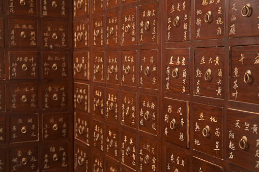 Tradition「Drawers labeled with Chinese letters」:スマホ壁紙(16)