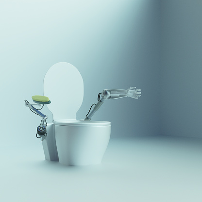 Arm「Automatic toilet with robot arms to scrub and clean」:スマホ壁紙(11)