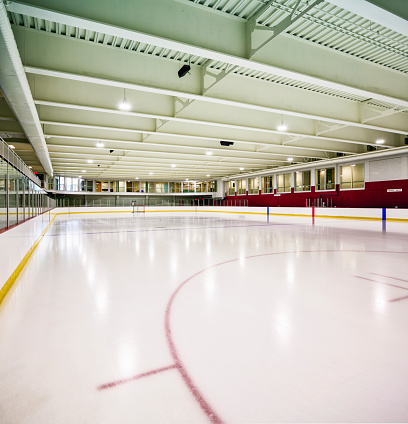Ice Hockey Rink「Interior hockey rink」:スマホ壁紙(0)
