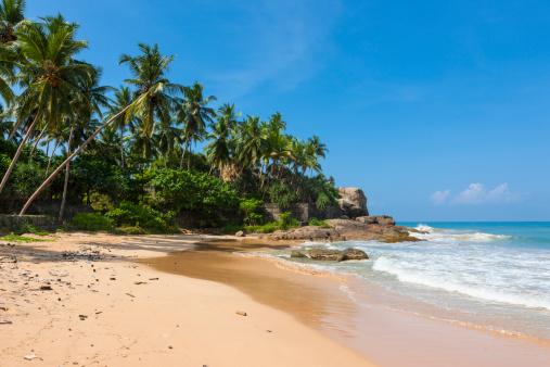 Sri Lanka「Sri Lanka, Galle, Beach at Duwemodara」:スマホ壁紙(4)