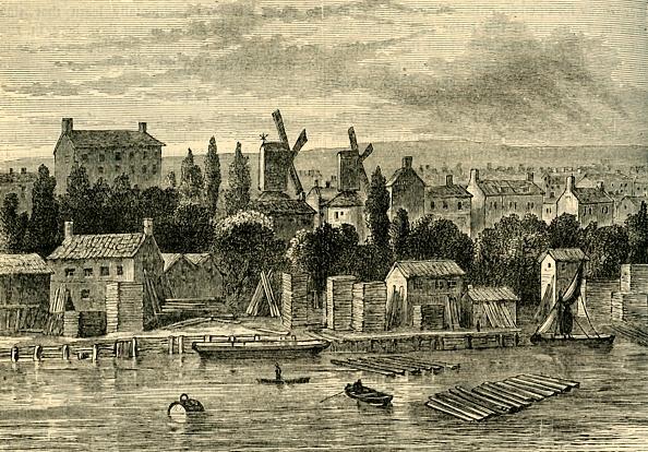 Mill「Old Windmills At Lambeth」:写真・画像(15)[壁紙.com]