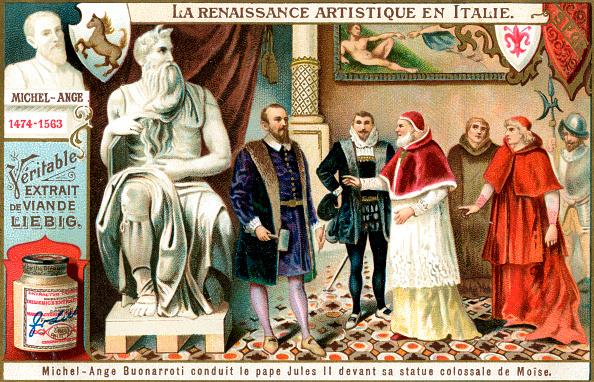 Michelangelo - Artist「Renaissance Art in Italy: Michelangelo, (c1900).」:写真・画像(19)[壁紙.com]
