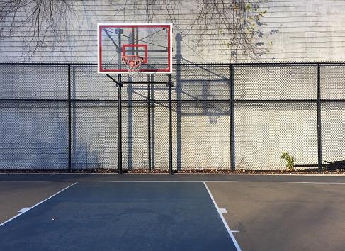 Chainlink Fence「Morning Basketball」:スマホ壁紙(2)