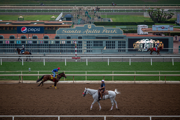 Sports Track「Horses At Santa Anita Horse Track To Be Reviewed By Safety Team Prior Races」:写真・画像(6)[壁紙.com]