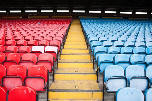 Soccer - Sport「Empty football stadium」:スマホ壁紙(16)