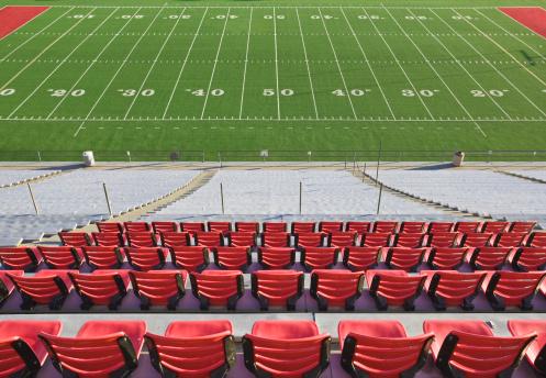 Competition「Empty football field and stadium seats.」:スマホ壁紙(9)