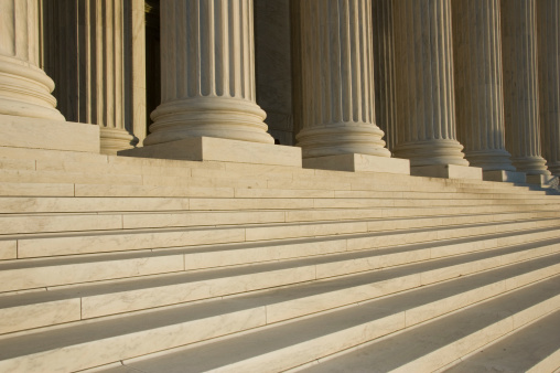 US Supreme Court Building「Photo of the steps and columns at the U.S. Supreme Court」:スマホ壁紙(18)