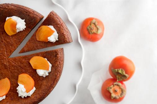 柿「Persimmon cake」:スマホ壁紙(13)