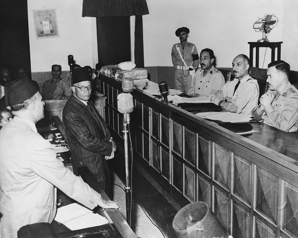 Cairo「Hassan Al-Hudaybi In Court」:写真・画像(9)[壁紙.com]