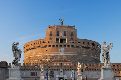 Roman「Rome, View of Castel Sant'Angelo」:スマホ壁紙(0)