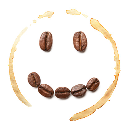 笑顔「スマイルのコーヒー豆」:スマホ壁紙(19)